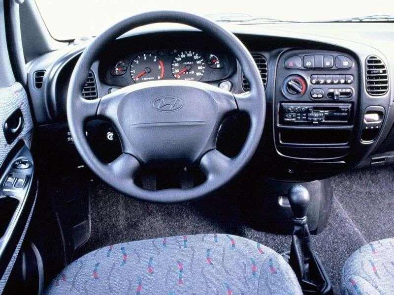 Hyundai H 1 Starex [restyling] van 2.4 AT (2004–2007)