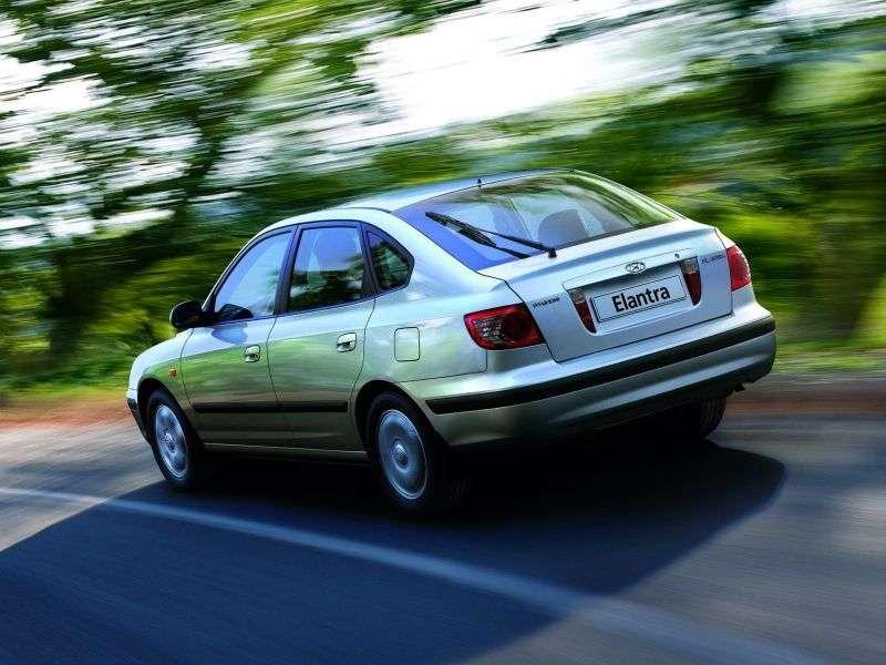 Hyundai Elantra XD [restyling] 1.8 MT hatchback (2003–2006)