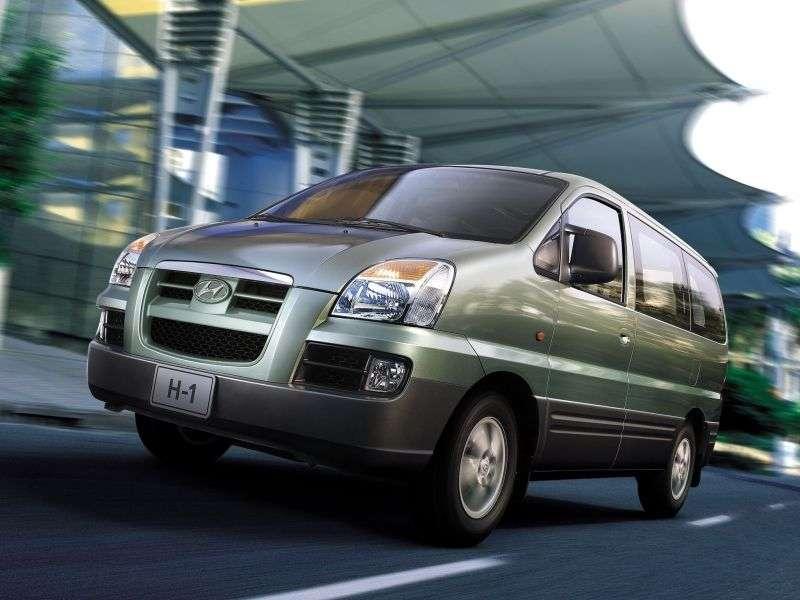 Hyundai H 1 Starex [zmiana stylizacji] Minibus 2.4 AT LWB (2004 2007)