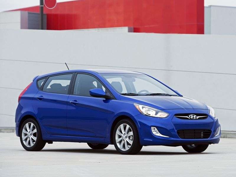 Hyundai Accent RBHetchback 1.4 AT (2011 – n. In.)