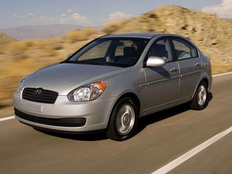 Hyundai Accent MCsedan 1.6 AT (2006–2010)