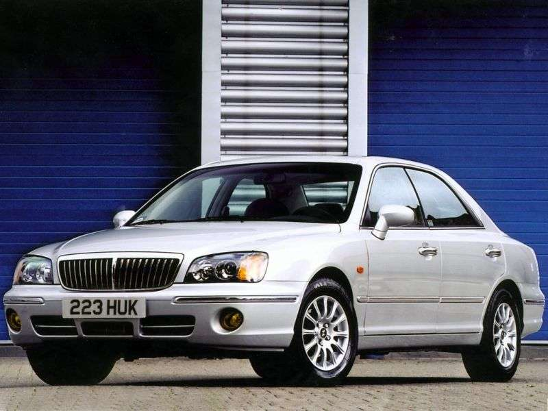 Hyundai Grandeur XGsedan 3.0 Shiftronic (1999–2003)