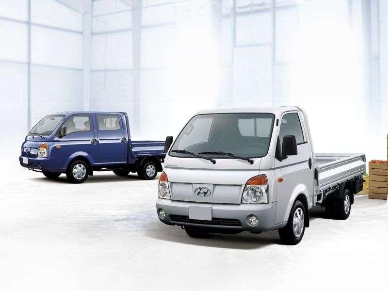 Hyundai Porter 4 generation Single Cab board 2 bit. 2.6 D MT (2004–2007)