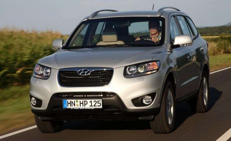 Hyundai Santa Fe CM [restyled] crossover 2.4 AT 4WD Style (2012) (2010–2013)