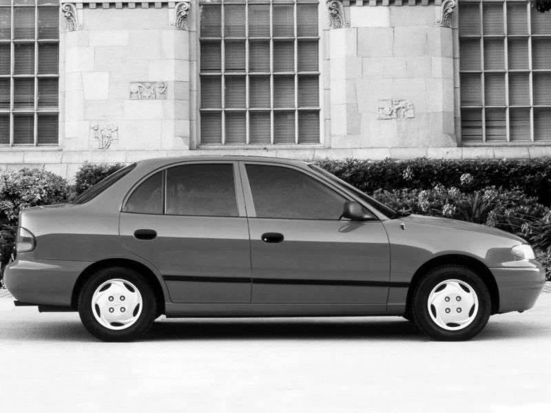 Hyundai Accent X3sedan 1.5 AT (1995–1997)