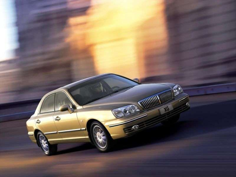 Hyundai Grandeur XG [restyling] 2.5 Shiftronic sedan (2002–2005)
