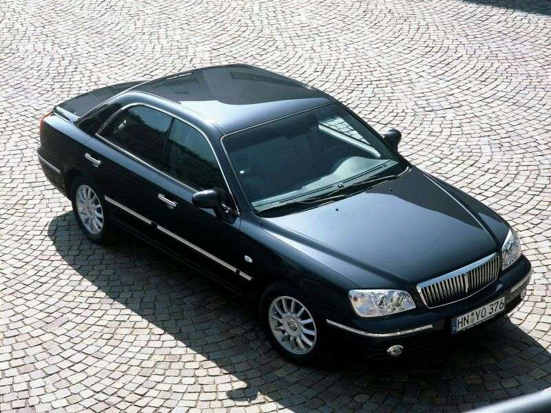 Hyundai Grandeur XG [restyling] 2.0 Shiftronic sedan (2002–2005)