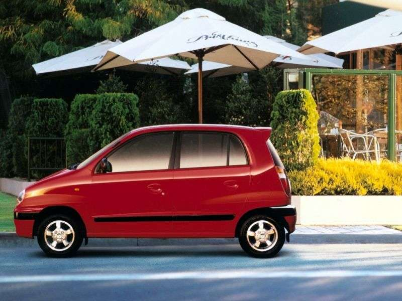Hyundai Amica 1st generation hatchback 1.0 3AT (1999–2001)