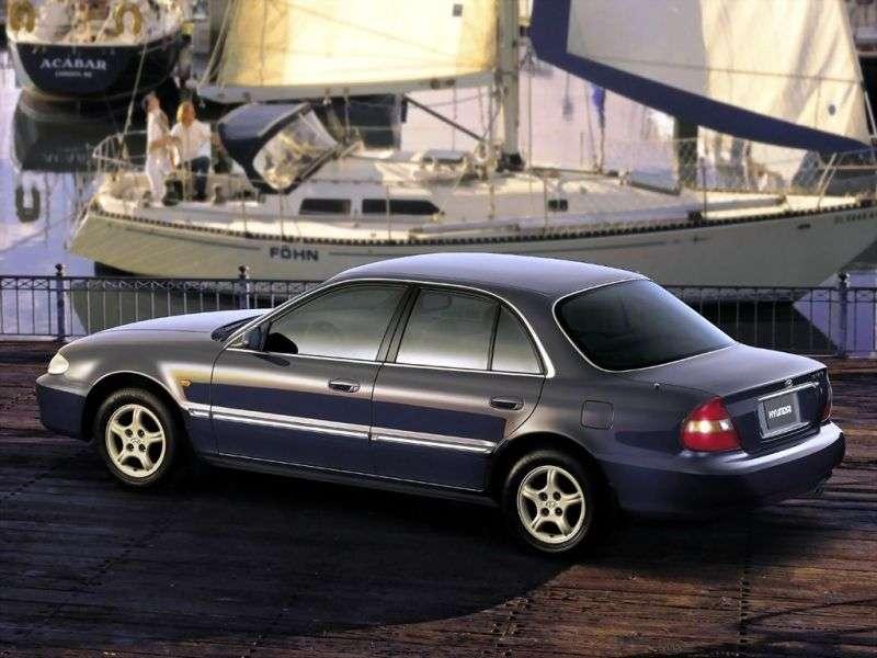Hyundai Sonata Y3 [restyled] sedan 2.0 AT (1996–1998)