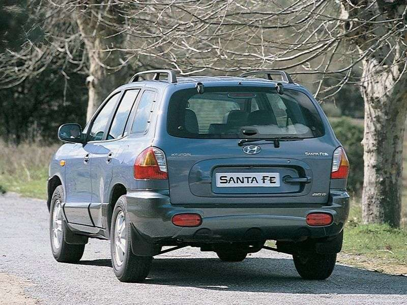 Hyundai Santa Fe SM 2.7 AT (2000–2004)
