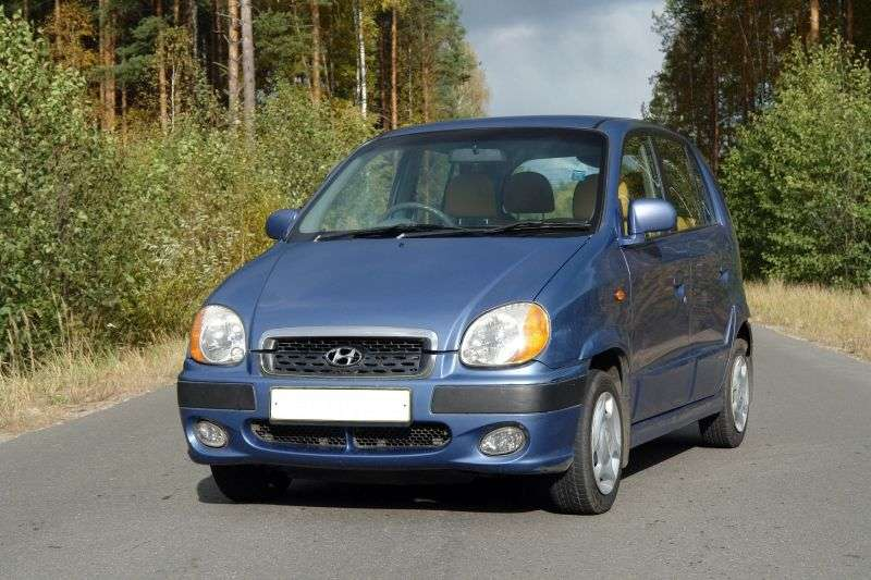 Hyundai Amica 1st Generation [Restyled] Hatchback 1.0 AT (2001–2003)