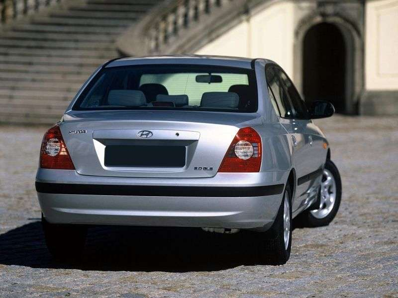 Hyundai Avante XD [restyling] 1.6 MT sedan (2005–2006)