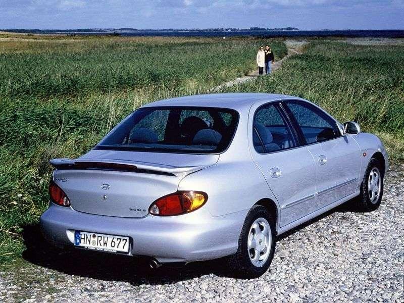 Hyundai Avante J3 [restyling] 1.5 MT sedan (1998–2000)