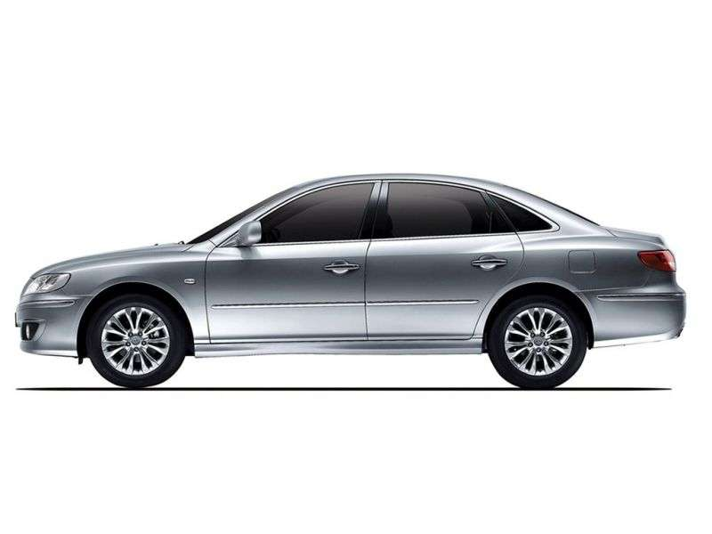 Hyundai Azera TG [restyling] sedan 2.7 AT (2010–2011)