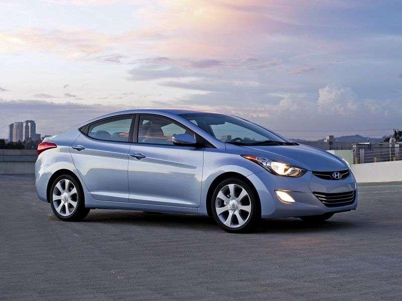 Hyundai Elantra MDsedan 1.6 AT Comfort (2011) (2011 – current century)