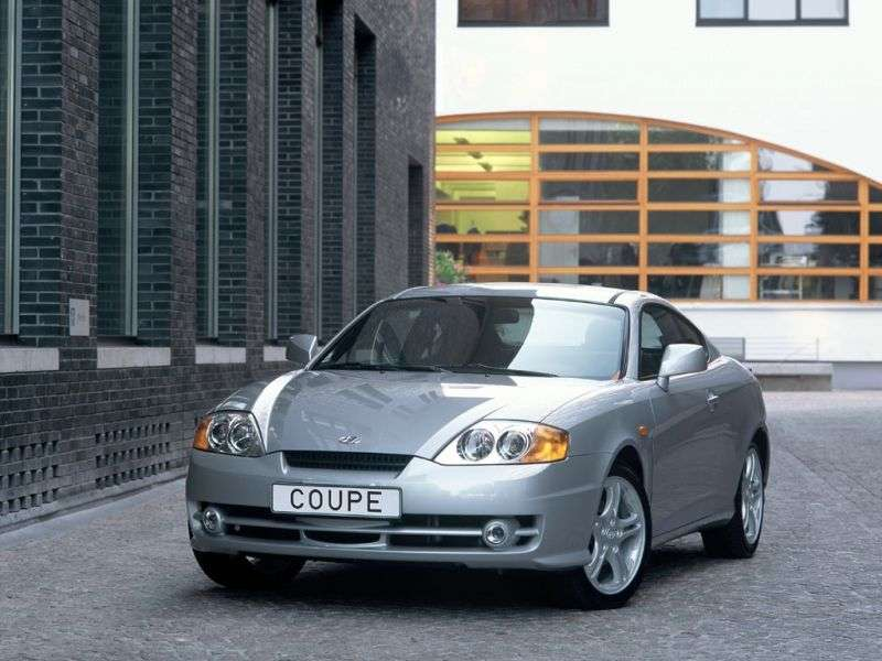 Hyundai Coupe GK Coupe 2.7 MT (2002–2005)