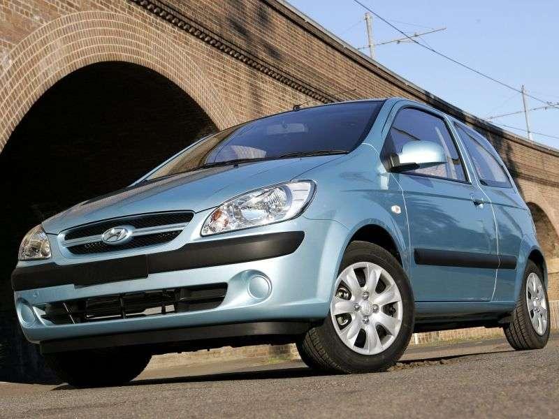 Hyundai Click 1st generation [restyling] 3 bit hatchback 1.6 AT (2005–2011)