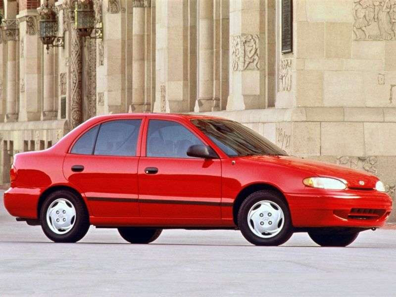 Hyundai Excel X3sedan 1.5 MT (1994–1997)
