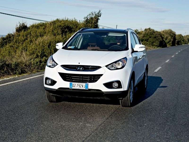 Hyundai ix35 1st generation 5 bit crossover. 2.0 AT 2WD Base (2012) (2010 – n.)
