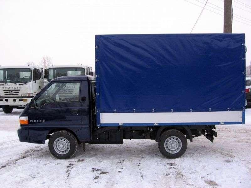 Hyundai Porter 3. generacji na pokładzie 2.5 TD MT GLS (A2) (1996 obecnie)