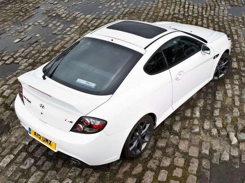 Hyundai Coupe GK F / L2 [2nd restyling] TSIII coupe 3 dv. 2.0 MT (2008–2009)