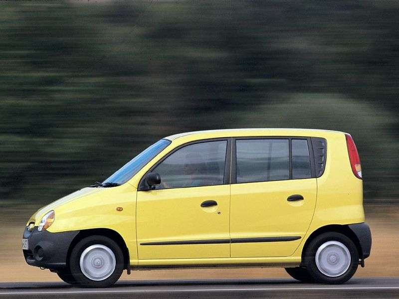 Hyundai Atoz 1st generation hatchback 0.8 Turbo AT (2000–2002)