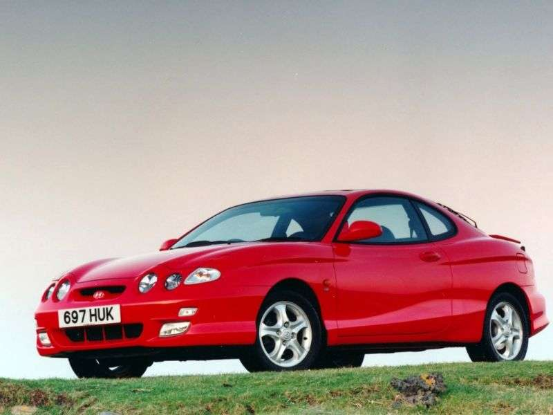 Hyundai Coupe RD [restyling] coupe 1.6 MT (1999–2001)