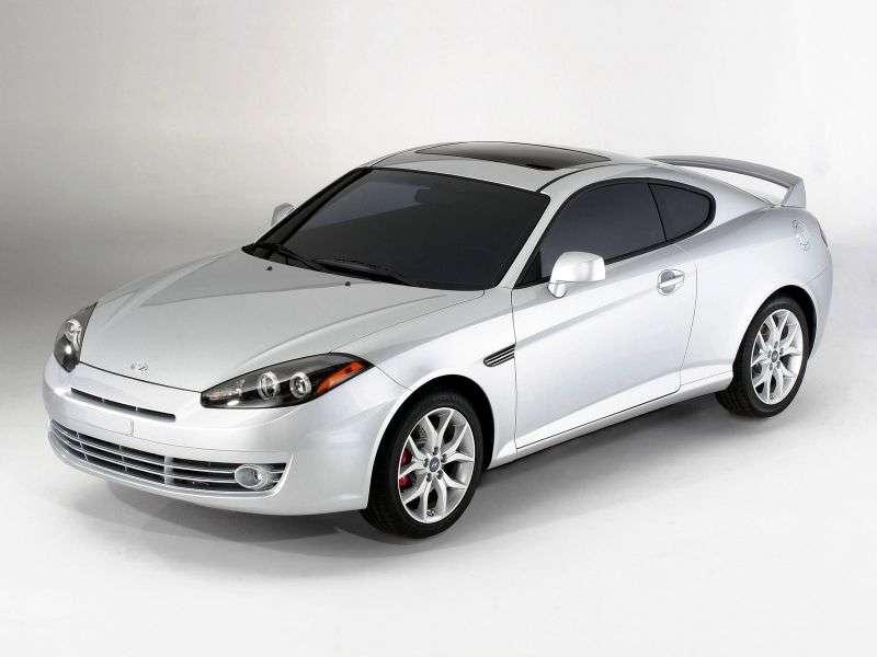 Hyundai Coupe GK F / L2 [druga zmiana stylizacji] coupe 2.7 MT (2007 2009)