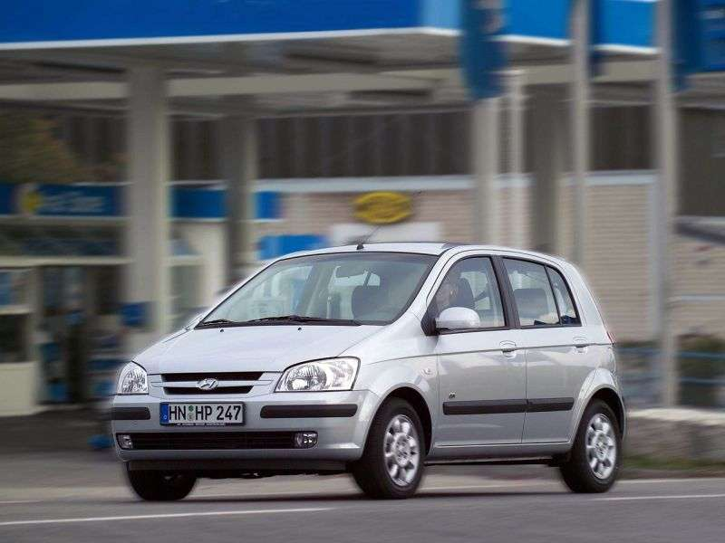 Hyundai Click 1 generation hatchback 5 dv. 1.5 AT (2002–2005)