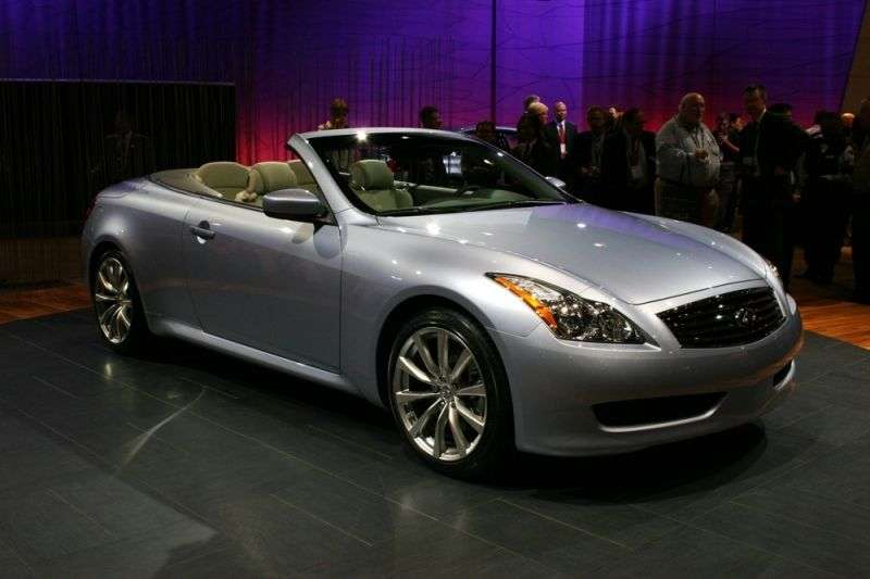 Infiniti G Series 4th generation G37 AT convertible (2007–2010)