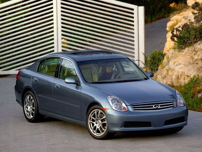 Infiniti G Series 3rd generation [restyling] G35 AT AWD sedan (2005–2006)