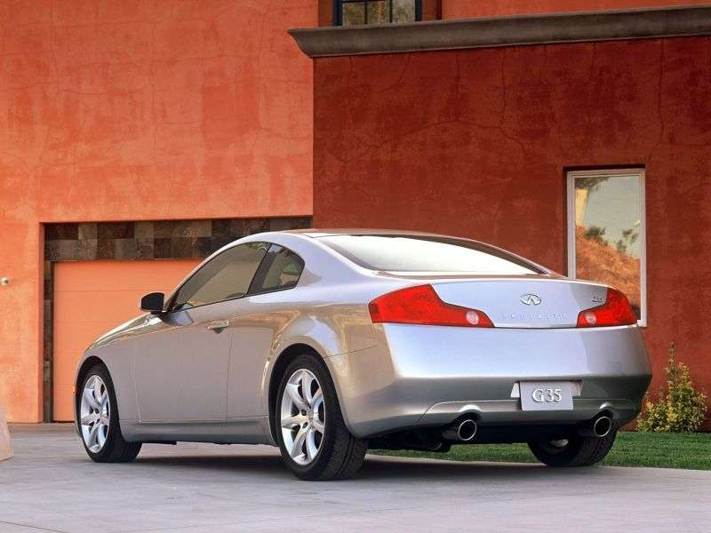 Infiniti G Series 3rd generation coupe G35 MT (2003–2005)
