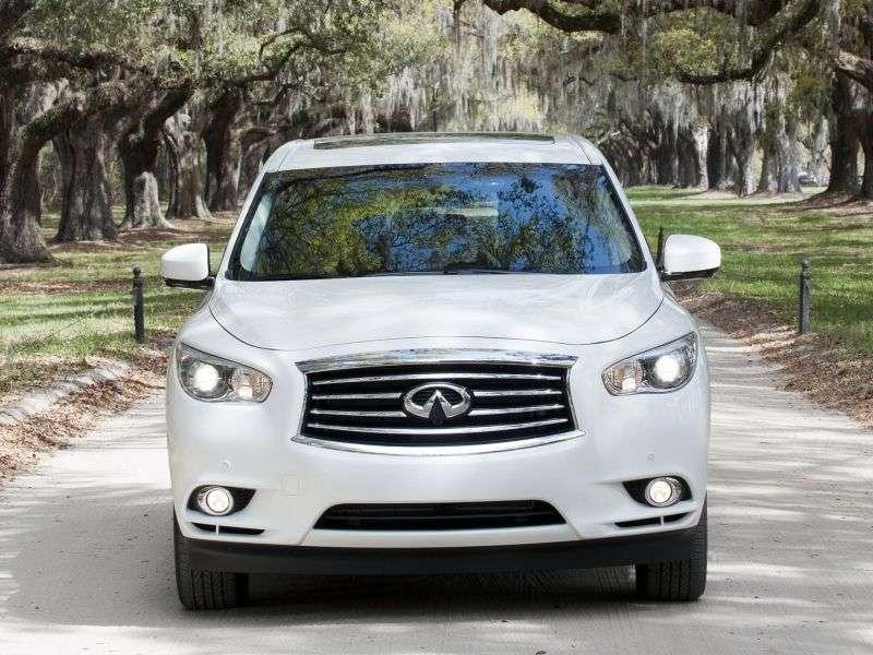 Infiniti JX Series crossover pierwszej generacji JX35 CVT AWD Premium (2013) (2012 obecnie)