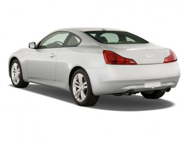 Infiniti G Series 4th generation coupe G37 7AT (2007–2010)