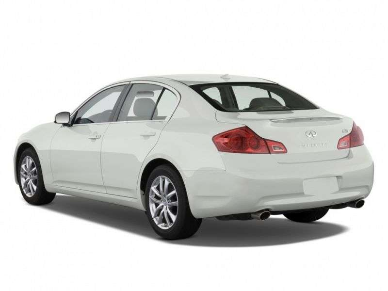 Infiniti G Series 4th generation sedan G35 AT (2006–2010)