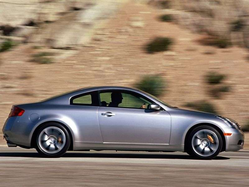 Infiniti G Series 3rd generation coupe G35 AT (2003–2005)