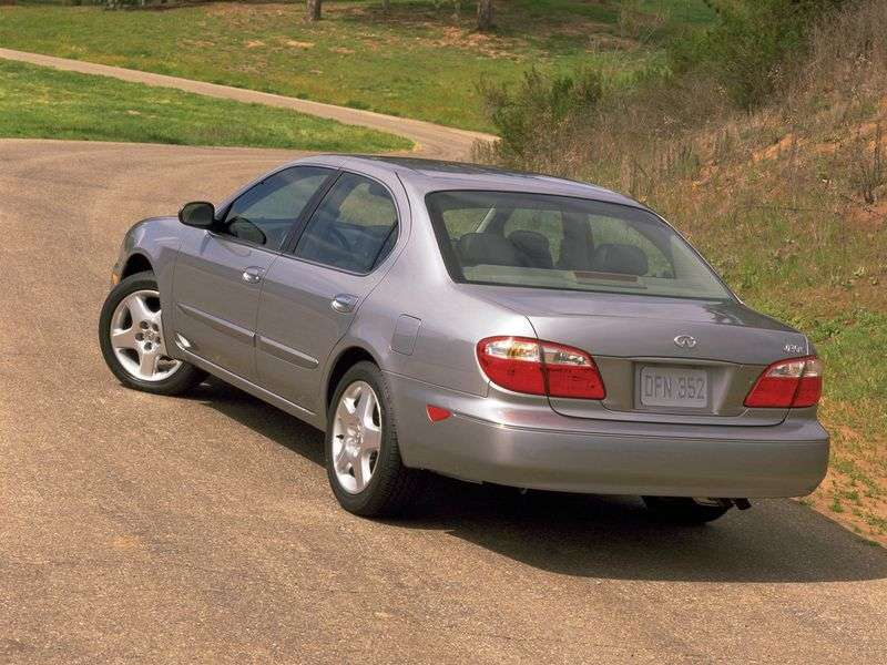 Infiniti I Series 2nd generation I30 MT sedan (2000–2002)