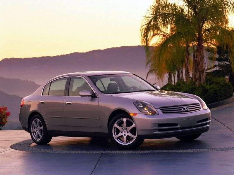 Infiniti G Series 3rd generation sedan G35 AT AWD (2002–2005)