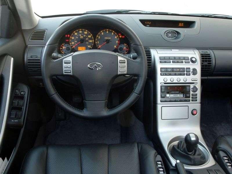 Infiniti G Series 3rd generation sedan G35 AT (2002–2005)
