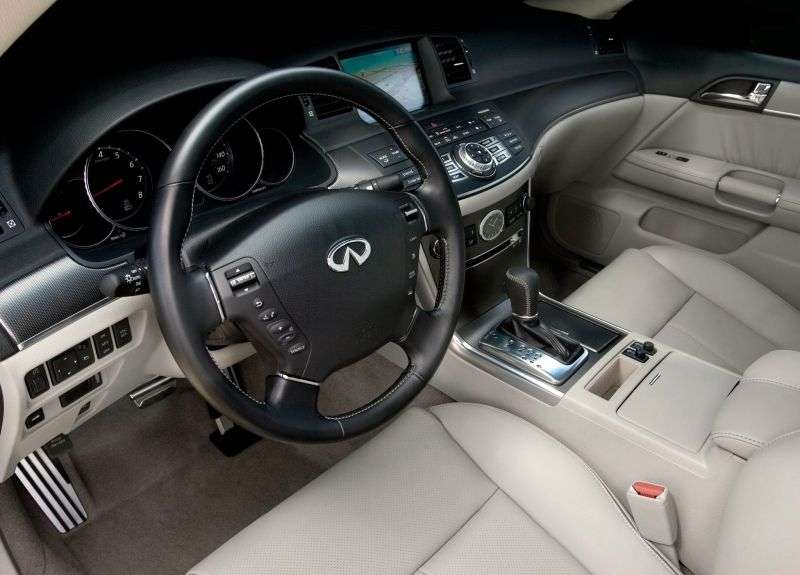 Infiniti M Series Y50 [restyling] M45 sedan 4 doors M45 AT (2008–2010)