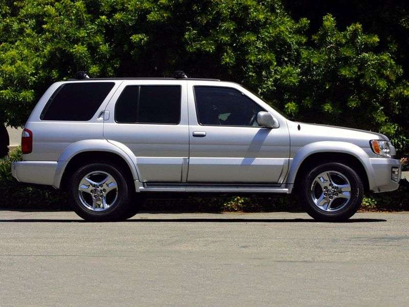 Infiniti QX Series 1st generation [restyling] QX4 SUV QX35 AT (2001–2003)