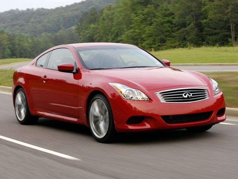 Infiniti G Series 4th generation [restyling] coupe G37 AT Sport (2012) (2007 – current century)