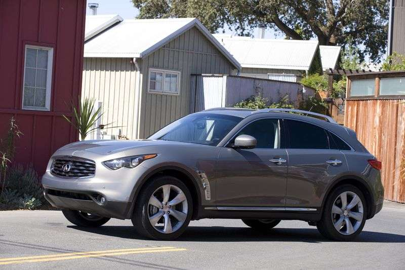 Infiniti FX Series 2 generation 5 bit crossover. FX35 AT AWD (2008–2010)