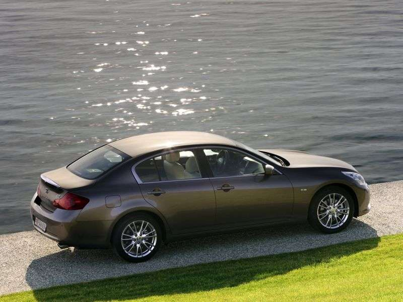Infiniti G Series 4th generation [restyling] 4 door sedan G37 AT AWD Hi tech AWD (2012) (2010 – current century)