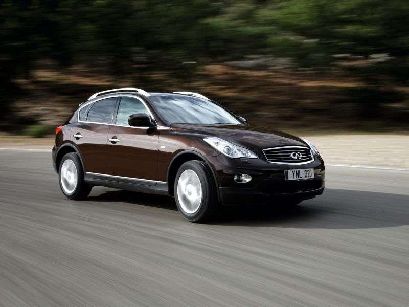 Infiniti EX Series 1st generation 5 bit crossover. EX25 AT AWD Elite (2013) (2010 – present)