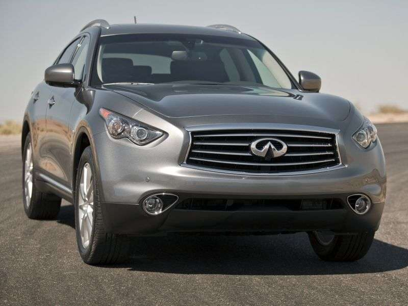 Infiniti FX Series 2nd generation [restyling] 5 bit crossover. FX37 AT Sport (2012) (2012 – current century.)