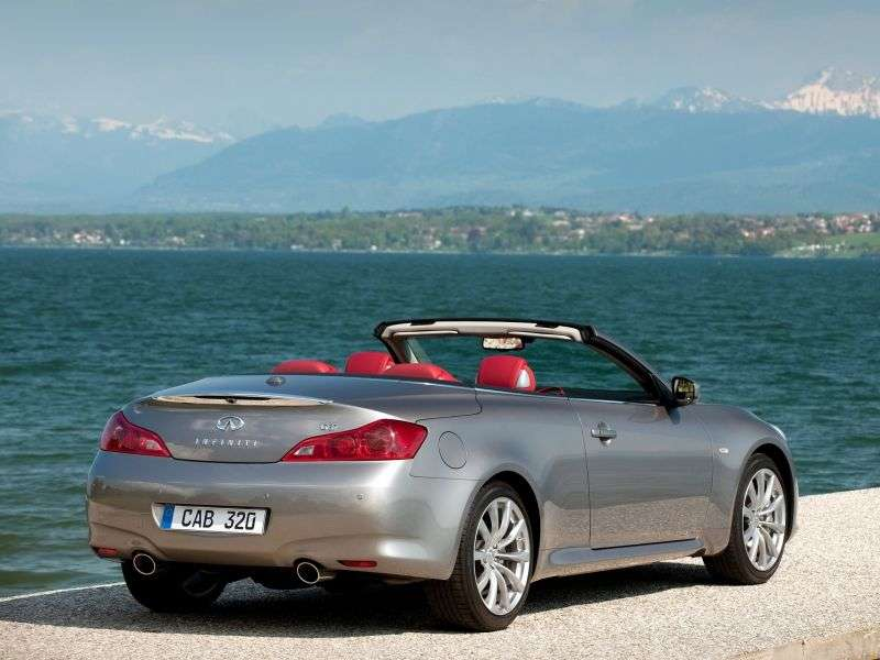 Infiniti G Series 4th generation [restyling] G37 AT Convertible Hi tech (2012) (2010 – n.)