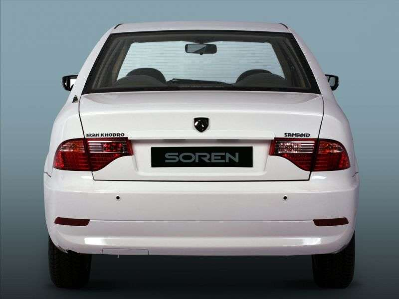 Iran Khodro Soren 1st generation 1.8 MT sedan (2007 – current century)