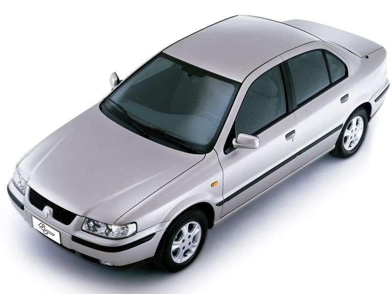 Iran Khodro Samand 1st generation 1.8 MT sedan (2002 – n.)