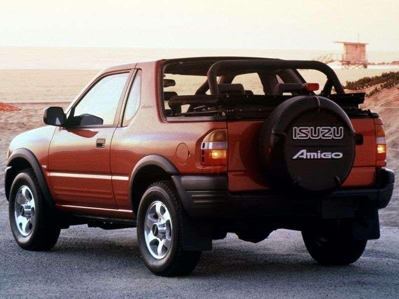 Isuzu Amigo 2nd generation Soft top SUV 3.2 MT 4WD (1998–2000)